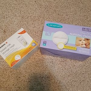 Nursing pads/milk storage bags